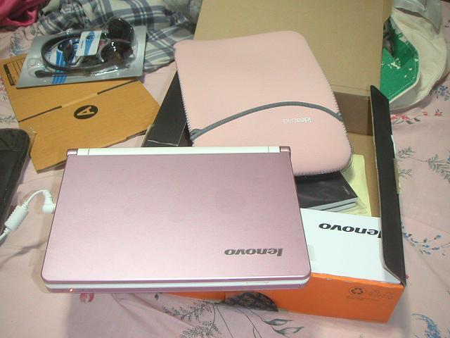 Lenovo Netbook S10 Pink