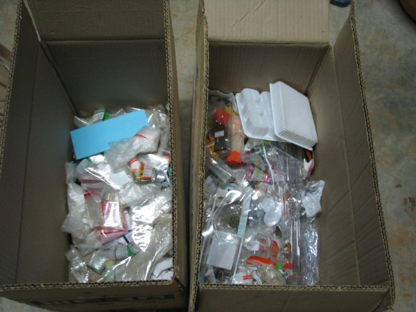 เก็บถุงพลาสติก แยกถุงพลาสติก