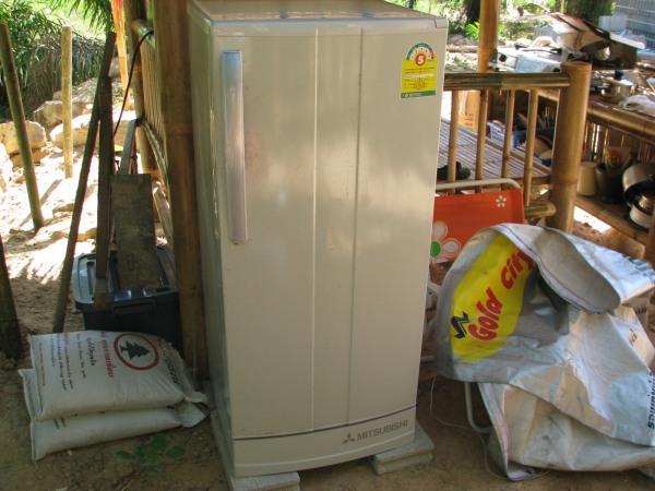 บ้านนำทางมีตู้เย็นใช้แล้ว