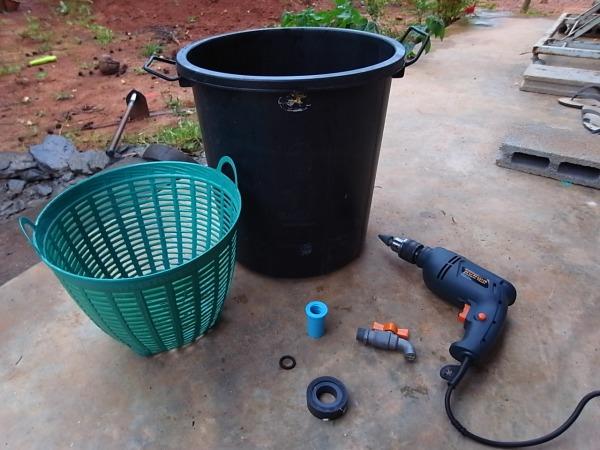 อุปกรณ์ทำถังหมักน้ำชีวภาพ