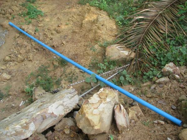 ท่อ PVC ยาว 4 เมตร สำหรับติดตั้งปั๊มโยกน้ำแบบลัคกี้