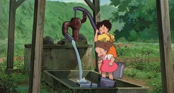 ปั๊มน้ำโยกมือแบบหางลิงจากเรื่อง My Neighbor Totoro