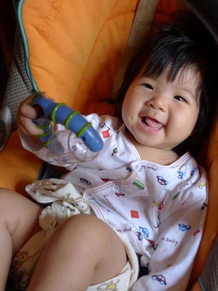 ทางนำ, พัฒนาการทารก 6 เดือน