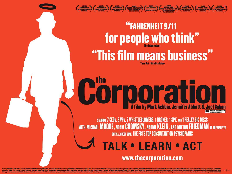 The corporation, บรรษัทวิปลาส